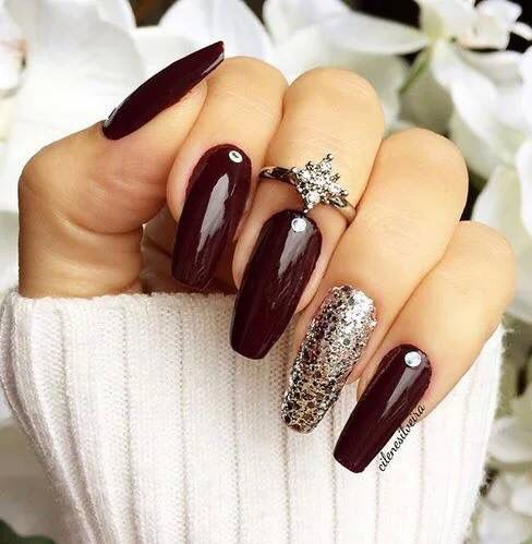 Best 25+ Dark nail designs ideas on Pinterest | Dark nails, Matte nail  designs and Dark acrylic nails - Best 25+ Dark Nail Designs Ideas On Pinterest Dark Nails, Matte